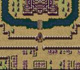 Farland Story 2 SNES Battle outside the castle