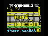 Gremlins 2: The New Batch MSX The kitchen