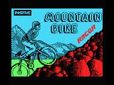 Mountain Bike Racer MSX Title screen