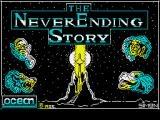 The Neverending Story ZX Spectrum Loading screen