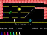 Jet Set Willy II: The Final Frontier ZX Spectrum Uptown top landing