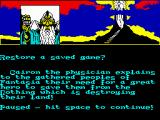 The Neverending Story ZX Spectrum Starting location