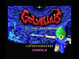 Golvellius: Valley of Doom MSX Title screen