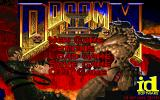 DOOM II DOS Main menu