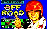 Ivan 'Ironman' Stewart's Super Off Road Amstrad CPC Title screen