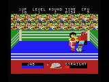Champion Boxing MSX He's almost down