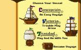 Galleons of Glory: The Secret Voyage of Magellan DOS Choose level of difficulty