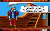 Galleons of Glory: The Secret Voyage of Magellan DOS Hearing gossip amongst your crew