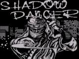 Shadow Dancer ZX Spectrum Loading Screen