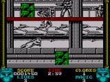 Shadow Dancer ZX Spectrum Collecting all the bombs on the level allows you to exit the level