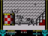 Shadow Dancer ZX Spectrum This enemy throws a boomerang blade at you
