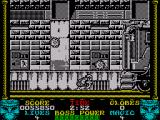 Shadow Dancer ZX Spectrum The second boss is a lorry of all things