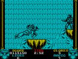 Shadow Dancer ZX Spectrum The waterfall in all its glory