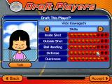Backyard Basketball 2004 Windows Reviewing player's skills