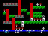 Rockman ZX Spectrum Dead - look at the dust