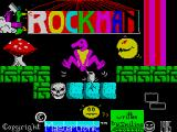 Rockman ZX Spectrum Loading screen