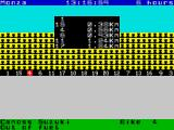 Endurance ZX Spectrum The leading bike flashes through