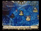 Phantom Brave PlayStation 2 The map screen; choose a destination
