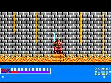 Rastan Amstrad CPC Surrounded by fire