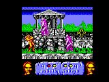 Altered Beast Amstrad CPC You have killed a zombie