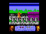 Altered Beast Amstrad CPC Turned into a werewolf