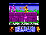 Altered Beast Amstrad CPC Throwing a fireball at your enemies