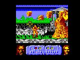 Altered Beast Amstrad CPC First boss