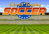 World Trophy Soccer Genesis Title screen