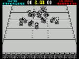 Cyberball ZX Spectrum The rough and tumble of the game