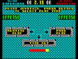 Cyberball ZX Spectrum Play-calling