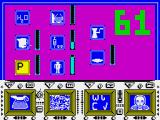 The Comet Game ZX Spectrum Click on the P when it goes yellow
