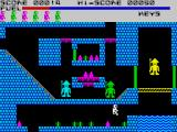 Caves of Doom ZX Spectrum A blue screen, of death