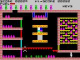 Caves of Doom ZX Spectrum Keys block most of the pods here
