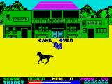 Dead or Alive ZX Spectrum Game over