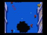 Aleste Gaiden MSX Shoot the yellow space ship for power ups