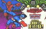 The Amazing Spider-Man and Captain America in Dr. Doom's Revenge! Atari ST Loading screen