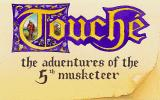 Touché: The Adventures of the Fifth Musketeer DOS Title screen