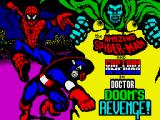 The Amazing Spider-Man and Captain America in Dr. Doom's Revenge! ZX Spectrum Loading screen