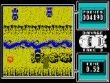 Super Stuntman ZX Spectrum Jumping off a ramp