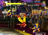 Real Bout Fatal Fury Neo Geo Don't break the stage walls (except Geese's stage): the consequences aren't good for both players!