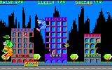 Rampage Amstrad CPC Ralph falling down