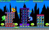 Rampage Amstrad CPC The bank is destroyed