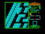 Pac-Mania Amstrad CPC Once eaten, the ghosts turn to eyes and retreat back to the center