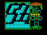 Pac-Mania Amstrad CPC There's a fruit target in the middle of the maze