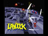 Laydock MSX Title screen