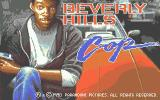 Beverly Hills Cop Atari ST Loading screen