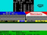 Formula One ZX Spectrum Commentator's kiss of death