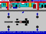 Formula One ZX Spectrum The pitstop routine