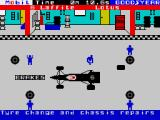 Formula One ZX Spectrum Move to each of the 4 tyres in turn