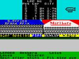 Formula One ZX Spectrum A Lotus out in front